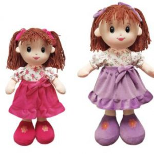 cotton on Rag Doll personalised gift 1st birthday new baby girl pink purple