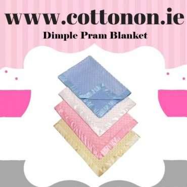 Dotty Pram Blanket