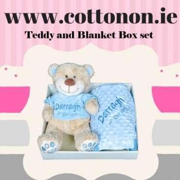 Teddy and Blanket Gift Hamper