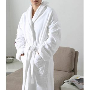 Ladies Velour Bathrobe