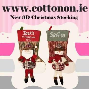 New 3D Christmas Stocking
