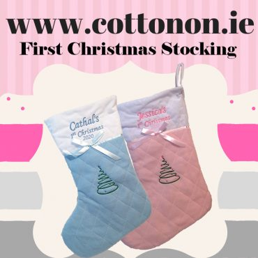 First Christmas Stocking