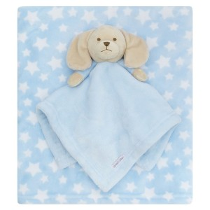 personalised embroidered baby gift blanket teddy new born babygift delivered boxset name date of birth cotton on comforter
