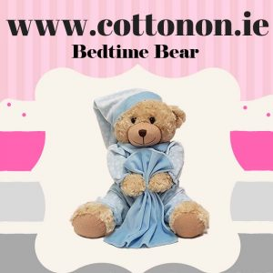 Personalised Bedtime Bear and Comforter Set personalised embroidered baby gift blanket teddy new born babygift delivered name cotton on comforter