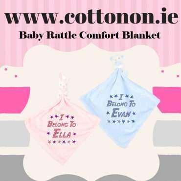 Baby Rattle Comfort Blanket
