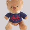 Velvet Bear Navy Jumper with Red personalised Name, Cotton on personalised gift Beautiful embroidered Gifts name and date