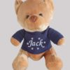 Velvet Bear Navy Jumper with Blue personalised Name, Cotton on personalised gift Beautiful embroidered Gifts name and date name in stars