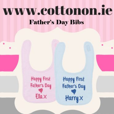 Father's Day Bib