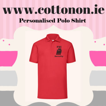 Personalised Polo Shirt SS402