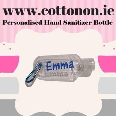 Personalised Hand Sanitizer Bottle