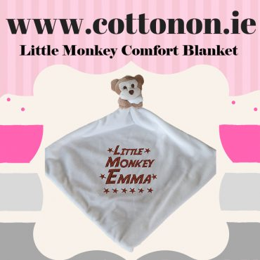 Little Monkey Comfort Blanket