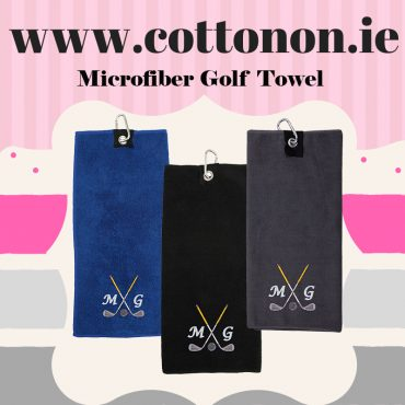 Personalised Microfiber Golf Towel