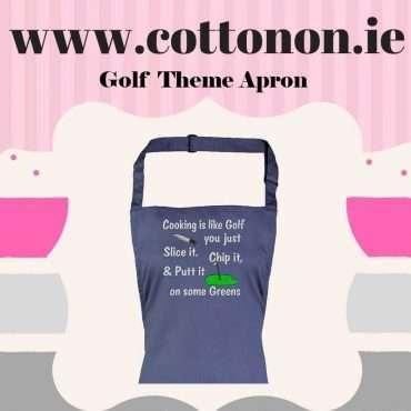 Golf Theme Apron
