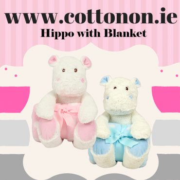 Hippo with Blanket